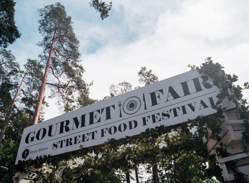 Street food, austeres un kaviārs. Gardēžu piestātne Gourmet Fair Jūrmalā