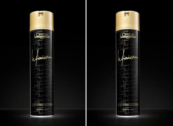 Новая формула лака для волос INFINIUM от L'Oréal Professionnel