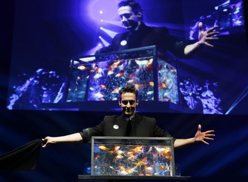 В Риге выступят «Иллюзионисты» с Бродвея