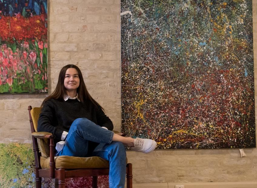 <b>Наталия Батарага</b> и ее «Человек, который любит» в художественной галерее БиАрт.