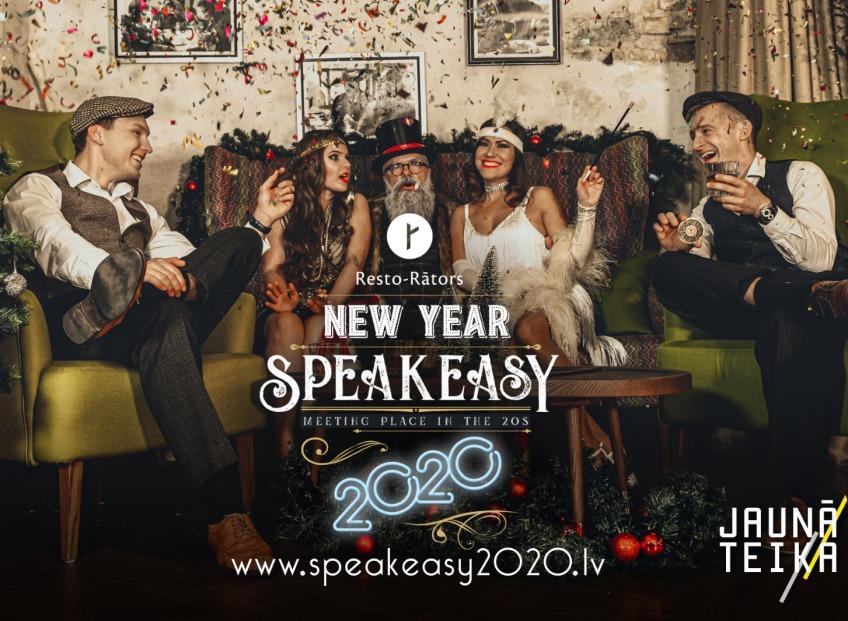 <b>Resto-Rātors ielūdz uz Jaunā gada sagaidīšanu - Speakeasy 2020!  </b>