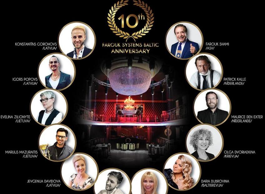 В рамках десятилетия <b>Farouk Systems Baltic</b> - <i>Осенний конгресс парикмахеров!</i>