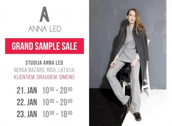 Дизайнерский  sample sale от ANNA LED