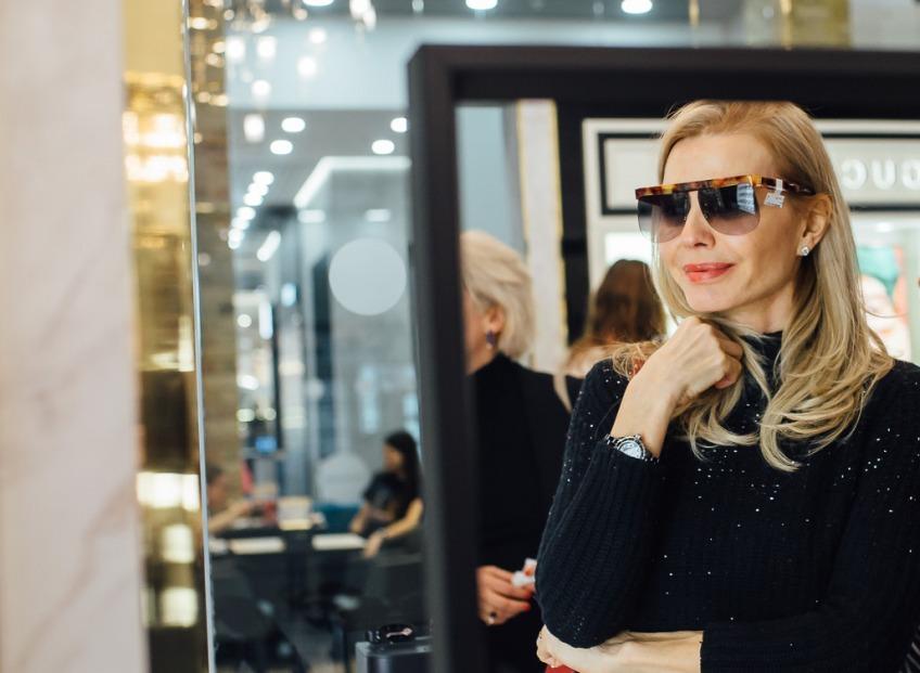 В салоне LVX OPTIKA презентовали актуальные коллекции очков брендов, представляемых Kering Eyewear