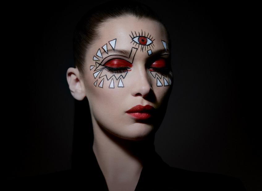 #СТРАШНОКРАСИВЫЙ макияж <b>DIOR</b> для<i> Halloween Party</i>