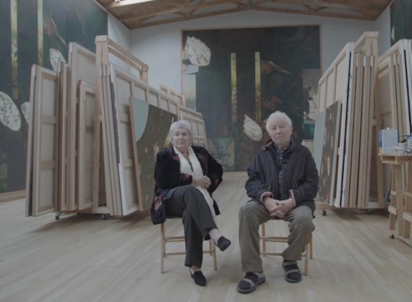 Показ фильма о самой известной звездной паре российского современного искусства – Кабаковых
