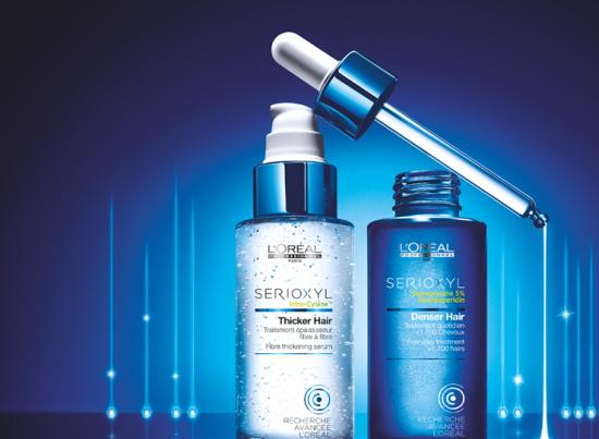 Профессиональная программа для борьбы с истончением волос SERIOXYL