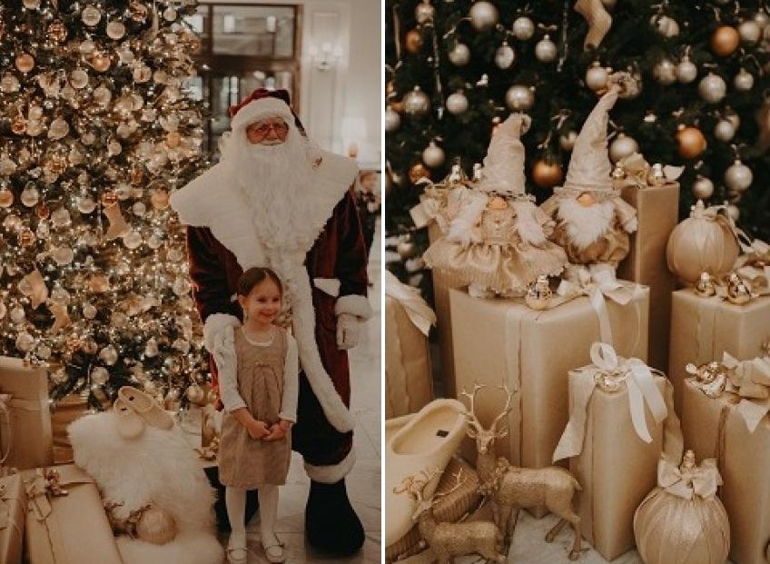 Ziemassvētku egles iedegšanas ceremonija <b>Grand Hotel Kempinski Riga</b>