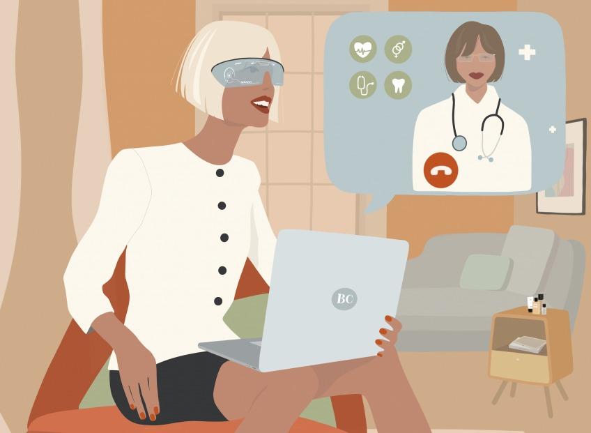 ТЕЛЕМЕДИЦИНА.<i> Каждый третий «визит» к врачу в скором будущем будет виртуальным. </i>