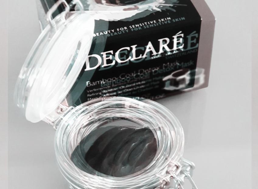 Детокс маска из бамбукового активированного угля – Bamboo-Coal Detox Mask от Declaré Switzerland