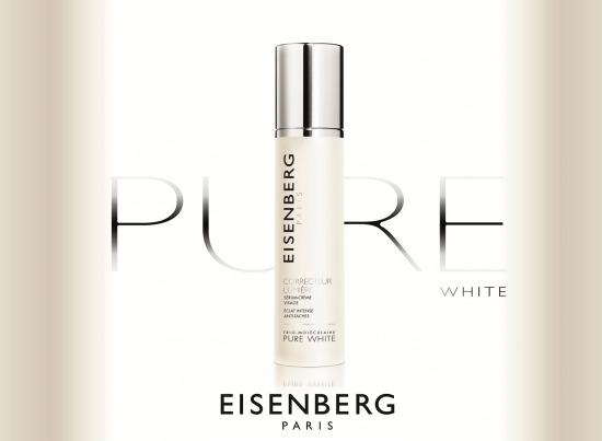 Блокируем процесс гиперпигментации с французом EISENBERG PURE WHITE