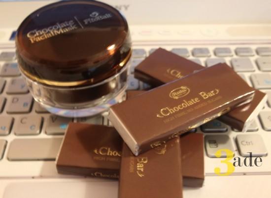 Что-то новенькое для красоты: шоколад снаружи, шоколад внутри