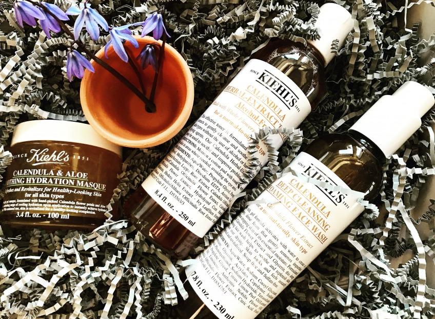 Kiehl's Herbal Extract Toner с лепестками календулы