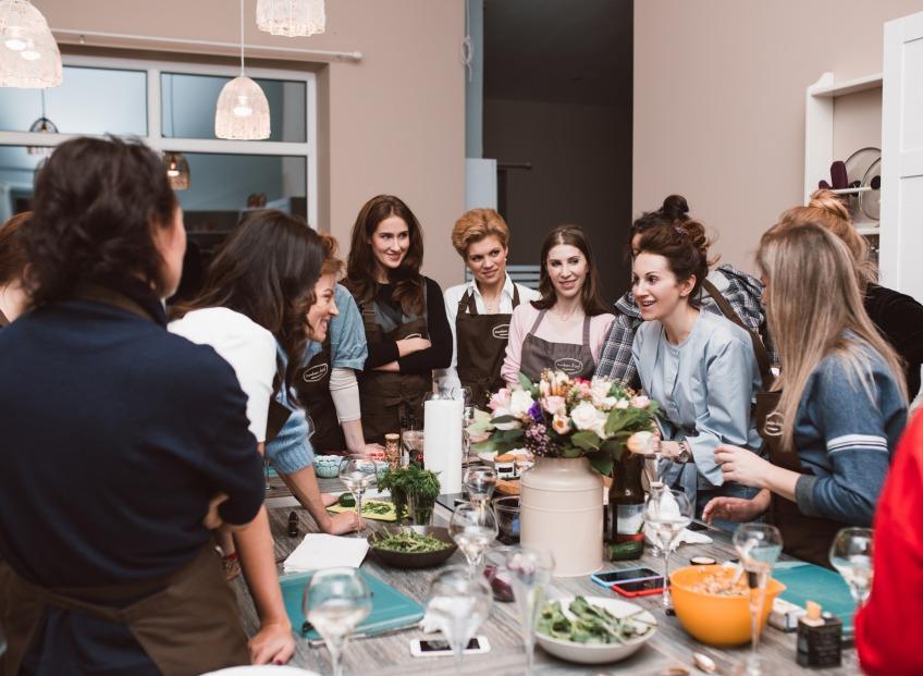 В Madam Brioš  прошел первый кулинарный мастер класс FOOD ЭНТУЗИАСТОВ #ЕДАЯЛЮБЛЮТЕБЯ