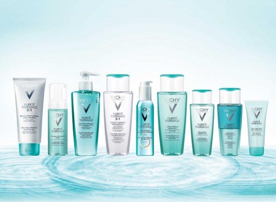 Аптечная парочка для умывания лица Vichy Purete Thermale