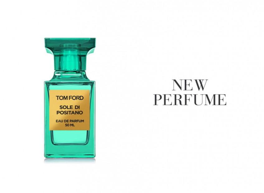 Новый аромат <b>Sole di Positano</b> от TOM FORD