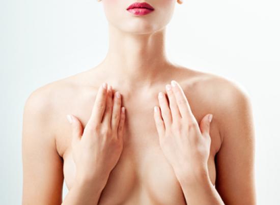 В центре внимания – красивая грудь!