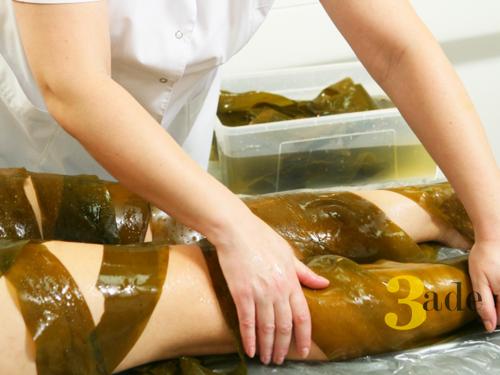 Обертывания водорослями: как цельными листами, так и пастой