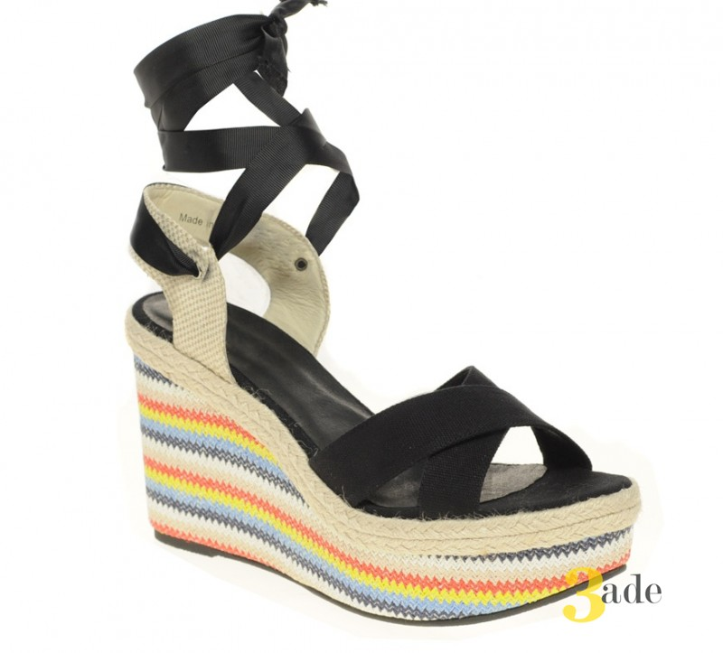 ASOS HAZEL Wedges with Rainbow Print за 46 евро