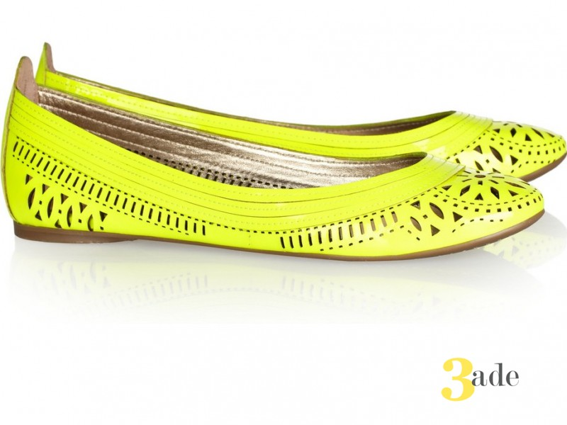 Belle Sigerson Morrisons neon-yellow за 190 евро